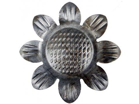 Stalowy słonecznik kuty metalowy