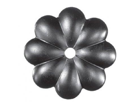 Stalowy kwiat kuty