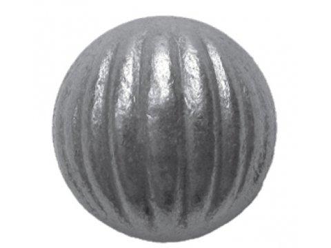 Metalowa kula pełna fakturowana fi50 mm