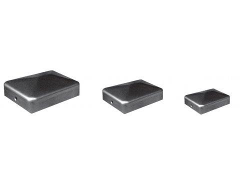 Daszki metalowe kwadratowe ogrodzeniowe