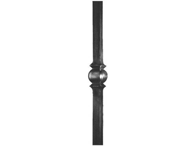 Słup balustradowy stalowy 30x30mm