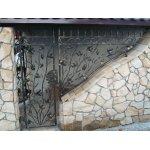 Ogrodowa brama kuta OBK09