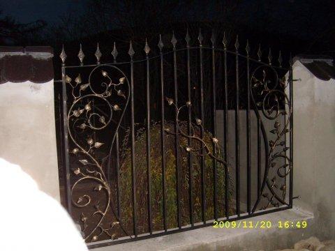 Ogrodzenie kute przęsła stalowe OK55