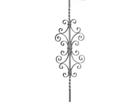 Tralka Prosta Ozdobna 05.075 950 x 170