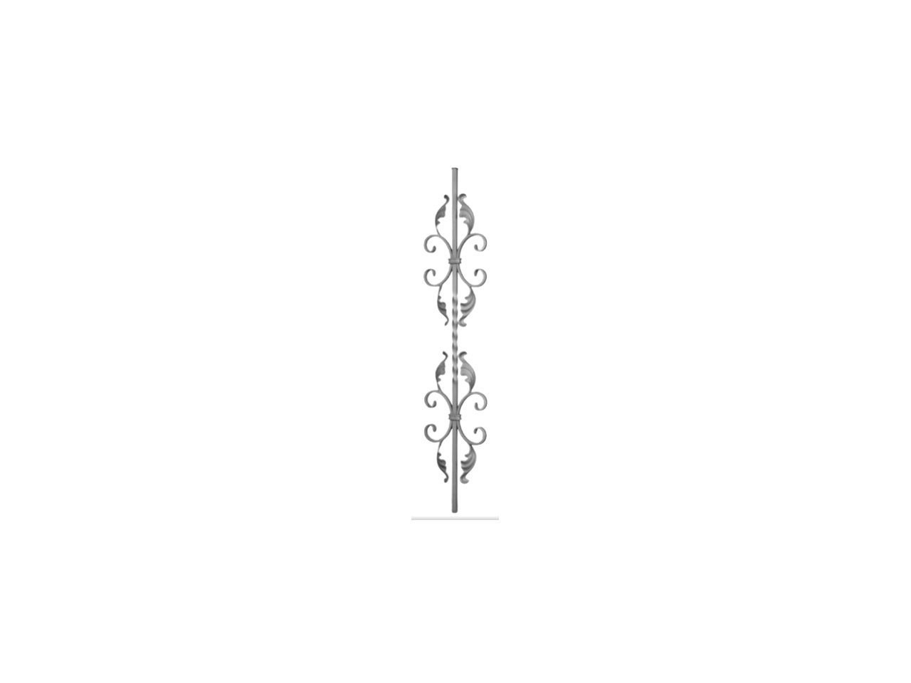 Tralka Prosta Ozdobna 05.130 950 x 170