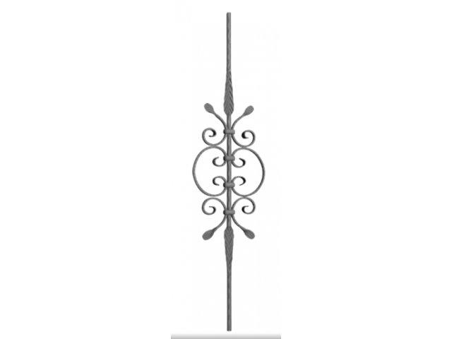 Tralka Prosta Ozdobna 06.040 950 x 170