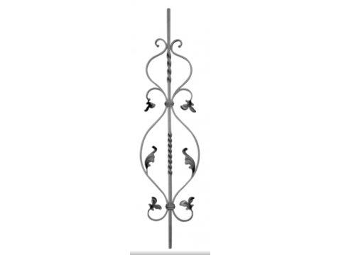 Tralka Prosta Ozdobna 06.050 950 x 170