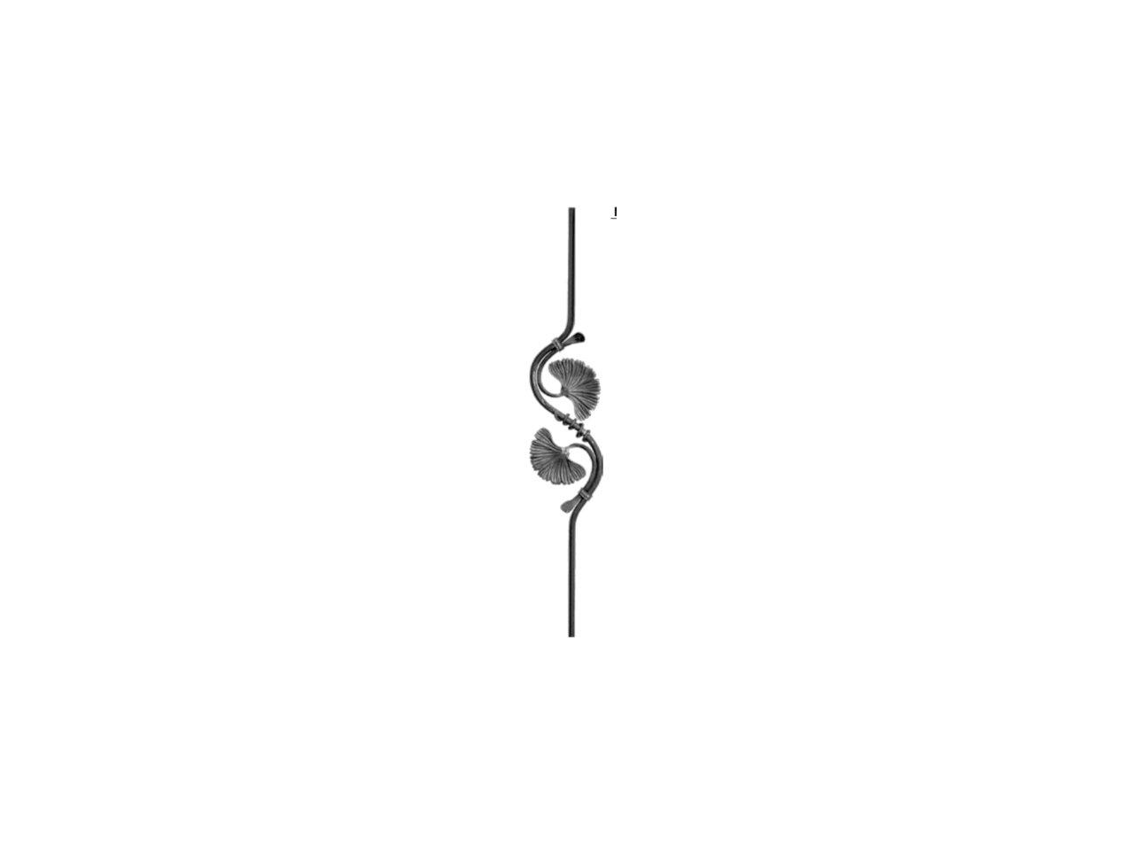 Tralka Skrętna Ozdobna 07.301.10 760 x 200