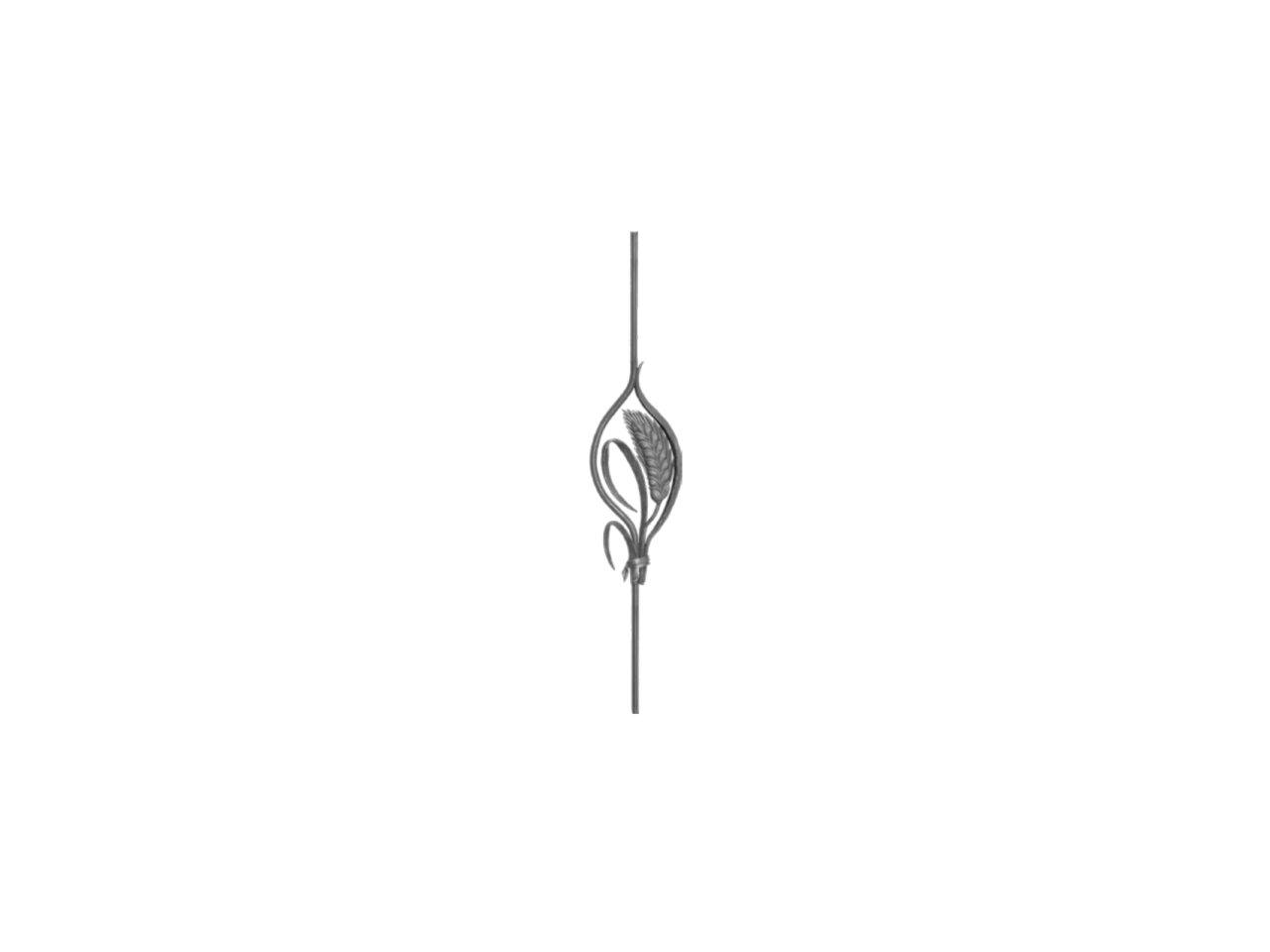 Tralka Prosta Ozdobna 007.306.01 950 x 250