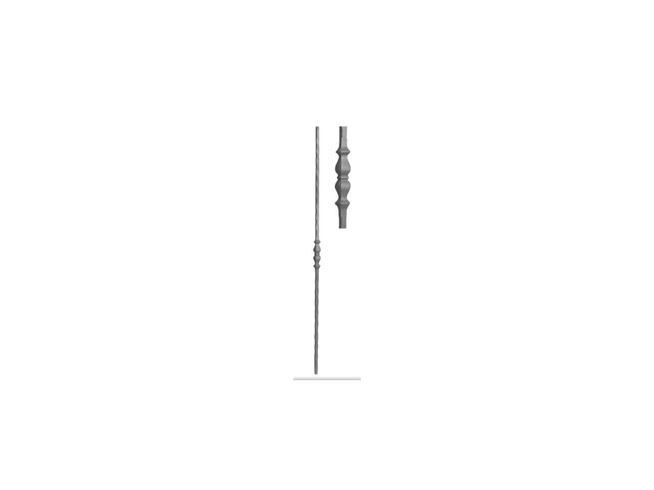 Tralka Prosta Ozdobna 11.012 950mm