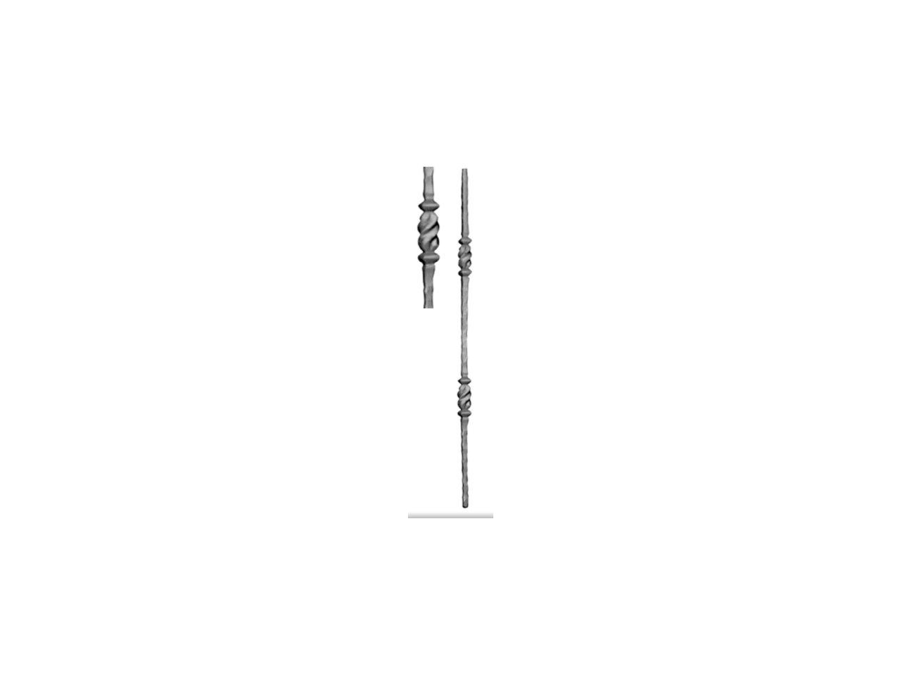 Tralka Prosta Ozdobna 111.036 950mm