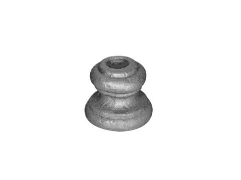 Stalowy grot kuty szpic 57mm 13.218.01