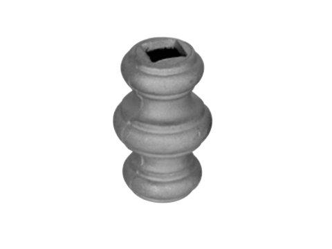 Stalowy grot kuty 13.153 16,5mm