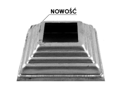 Maskownica metalowa 13.484.12, 20mm, otwór 12mm
