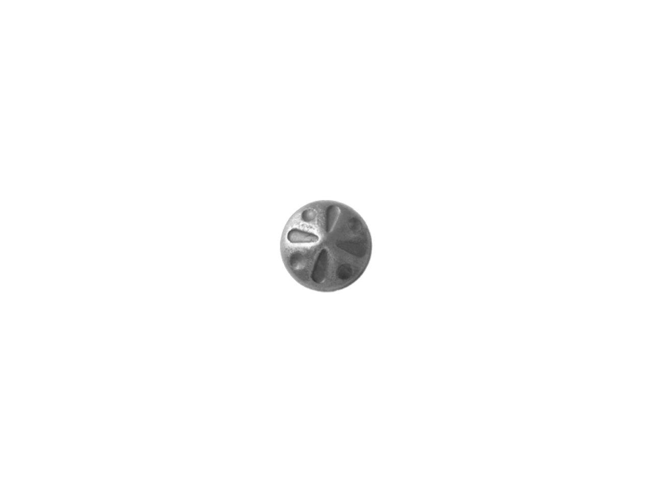 Stalowy kwiat kuty fi 105mm 14.441