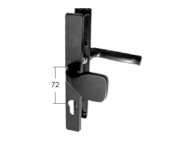 Klamka płaska Model 16.328 72mm