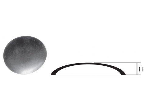 Daszek metalowy na słupek okrągły