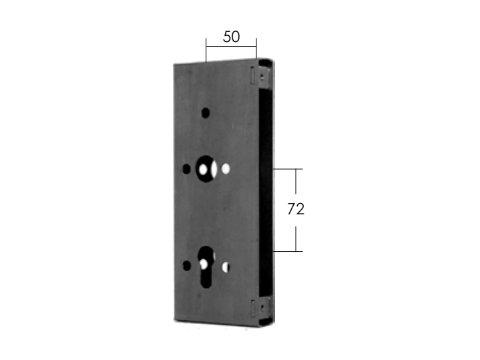 Kaseta zamka stalowa Model 15.634.01