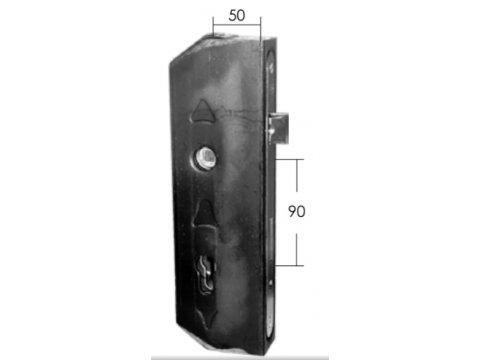 Kaseta zamka stalowa Model 15.645.01