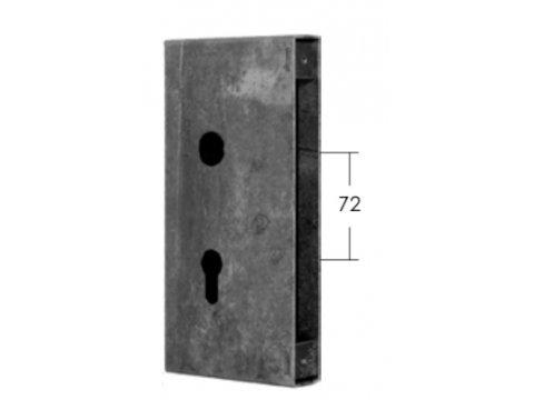Kaseta zamka stalowa Model 15.648.01