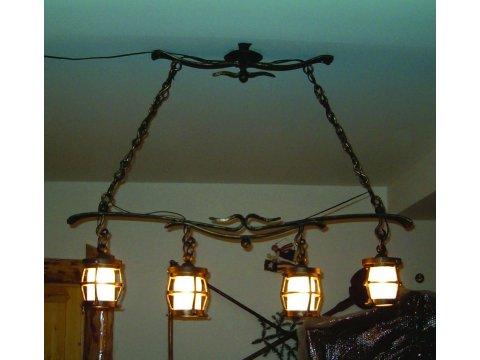 Lampa kuta stalowa wisząca LK01