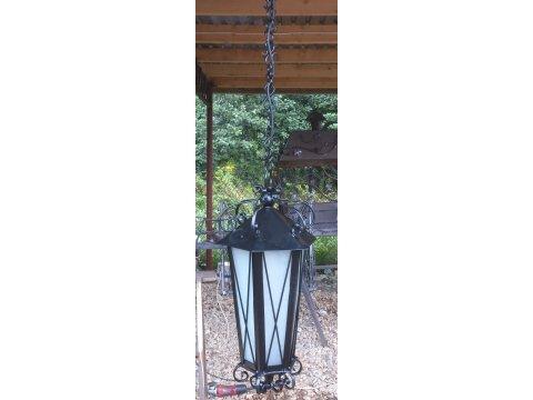 Lampa kuta stalowa wisząca ozdobna L 08