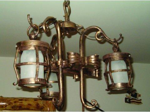 Lampa kuta stalowa wisząca LK14