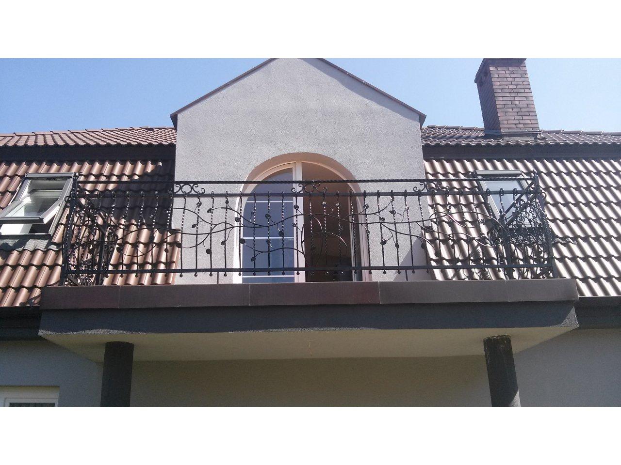Balustrada kuta zewnętrzna BKZ54