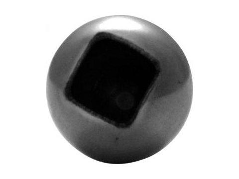 Stalowa kula z otworem fi25mm