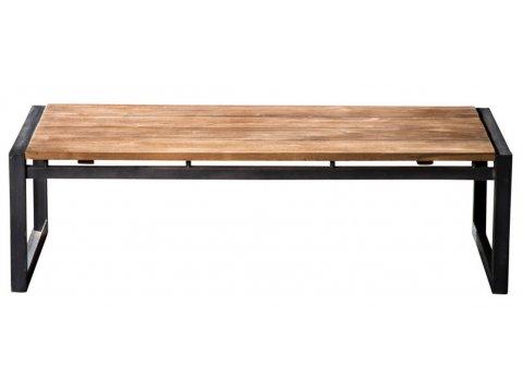 Minimalistyczna ławka kuta S004