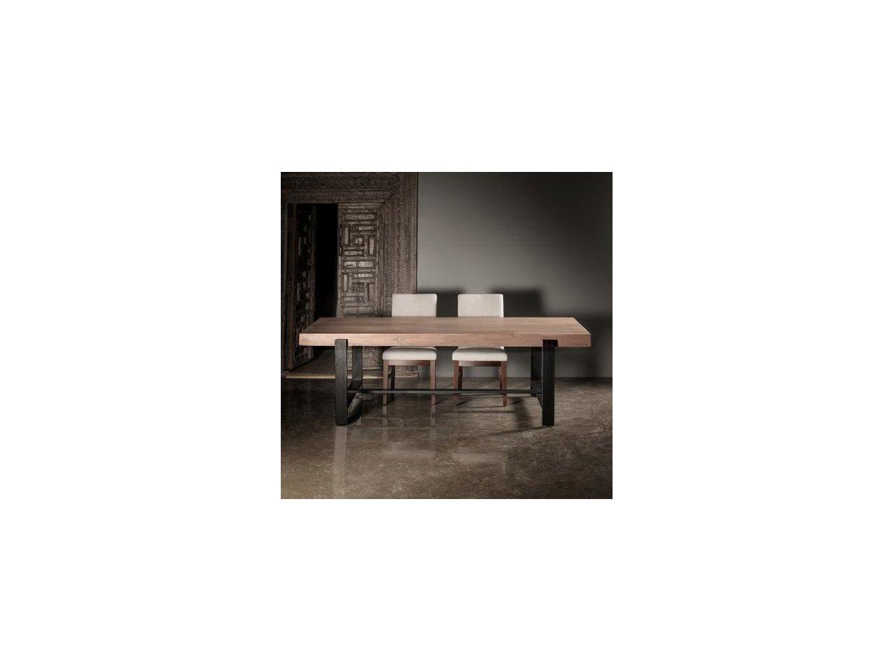 Minimalistyczny stół kuty kwadratowy SK05