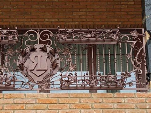 Balustrada kuta zewnętrzna BKZ 0102