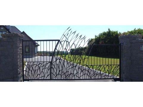 Brama Kuta Uchylna BU93