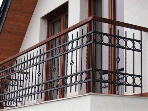 Balustrada kuta zewnętrzna BKZ60