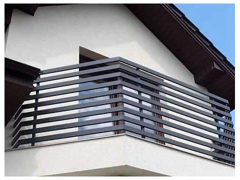 Balustrada kuta zewnętrzna BKZ61