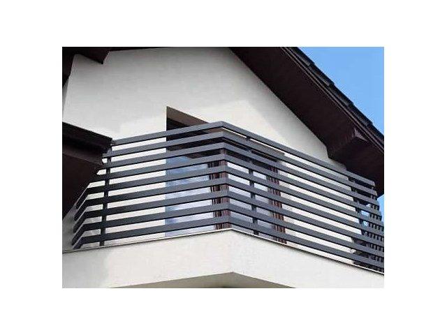 Balustrada kuta zewnętrzna BKZ61 profile