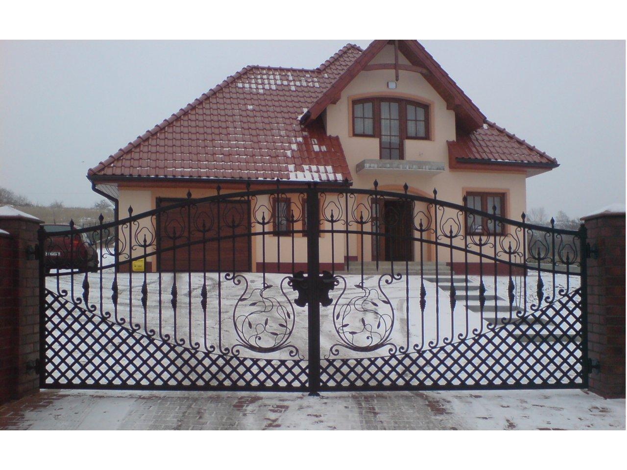 Brama Kuta Uchylna BK101