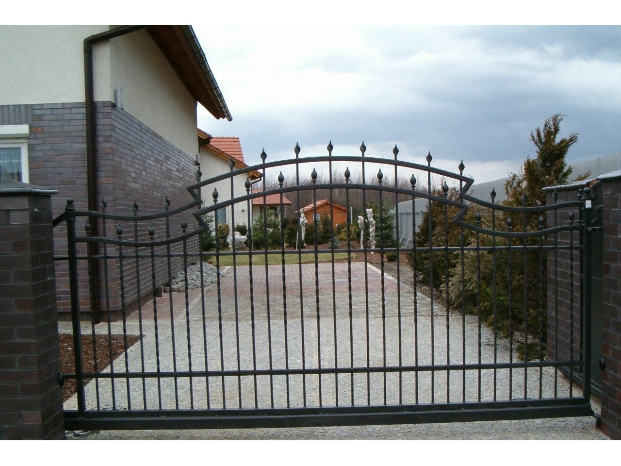 Brama Kuta Uchylna BK102
