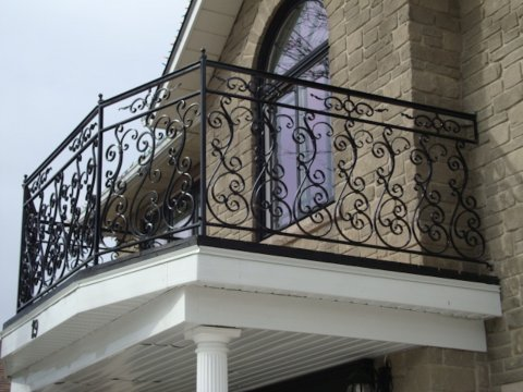 Balustrada kuta zewnętrzna BKZ070