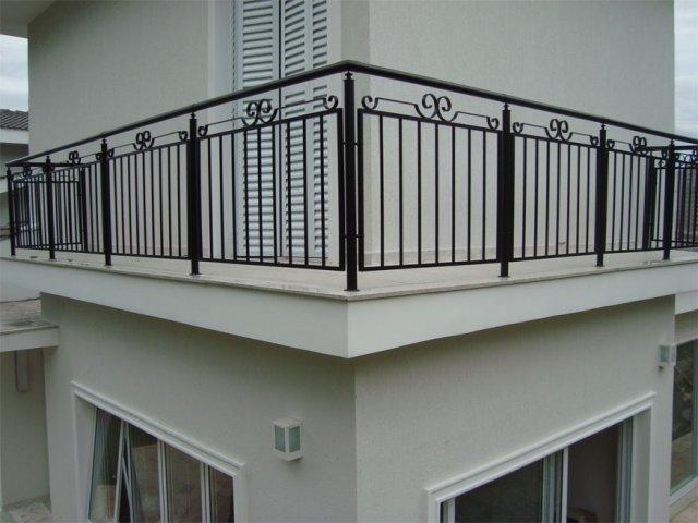 Balustrada kuta zewnętrzna BKZ74