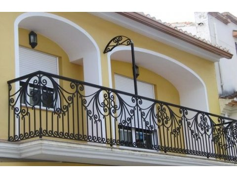 Balustrada kuta zewnętrzna BKZ75