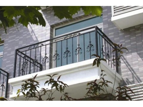 Balustrada kuta zewnętrzna BKZ80