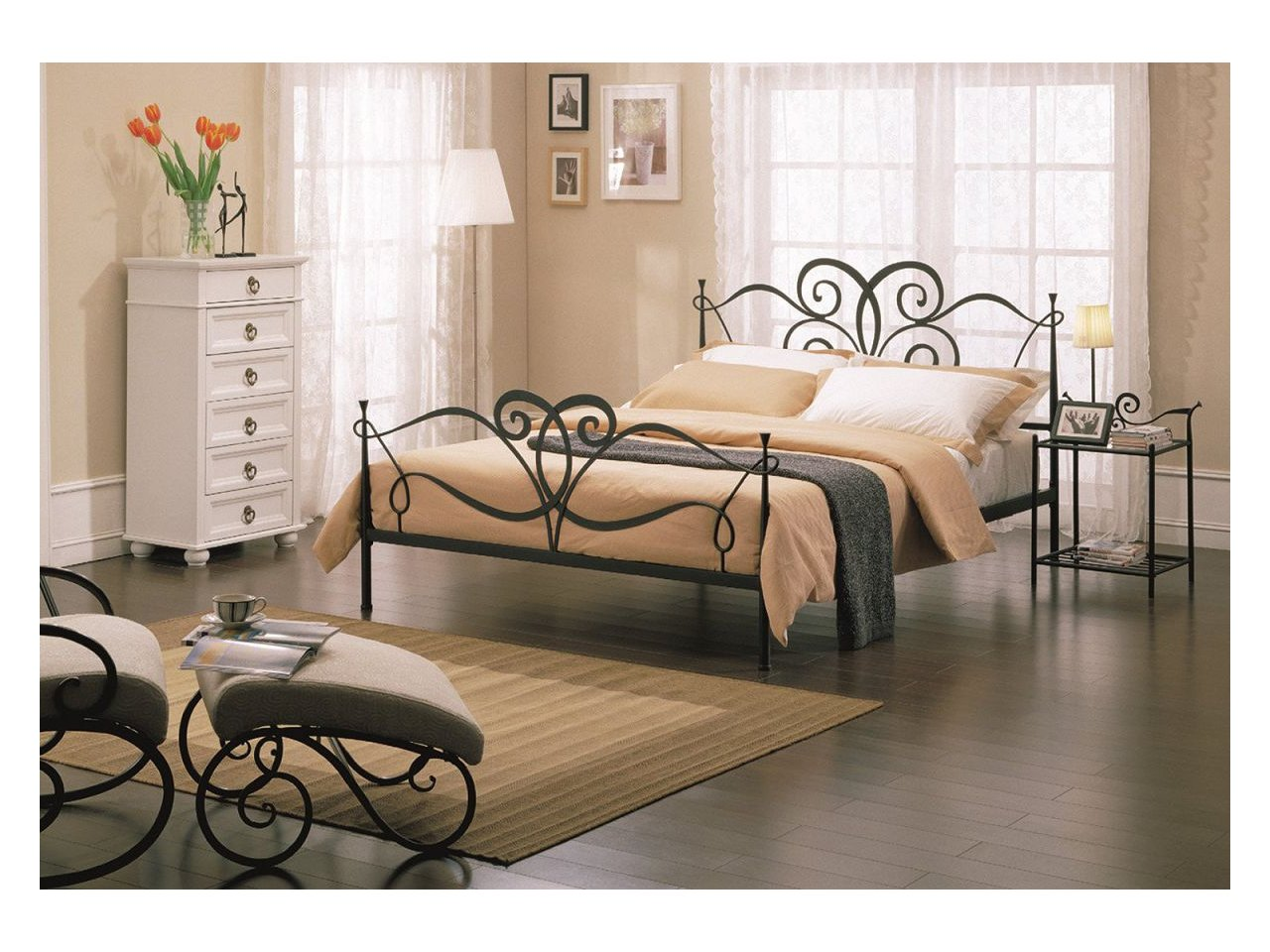 Metalowe łóżko Kute Model Mk08