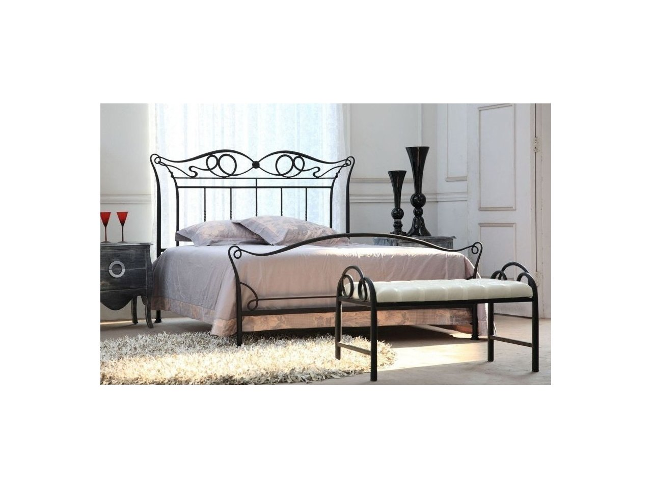 Metalowe łóżko Kute Model Mk11