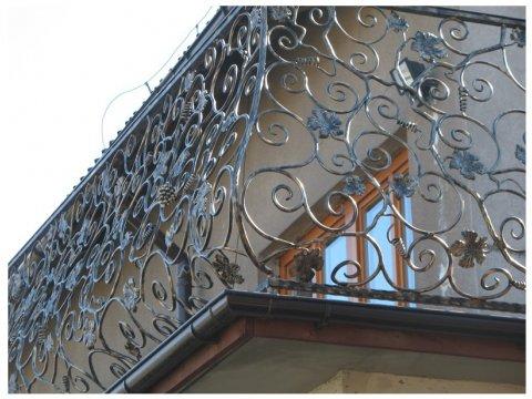 Balustrada kuta zewnętrzna BKZ01