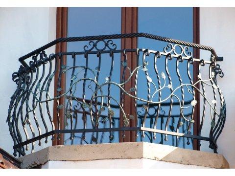 Balustrada kuta zewnętrzna BKZ03