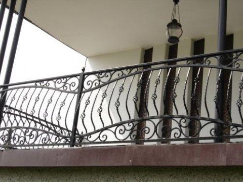 Balustrada kuta zewnętrzna balkon BKZ04