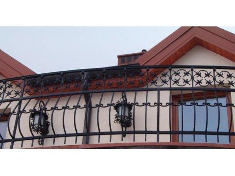 Balustrada kuta zewnętrzna BKZ08