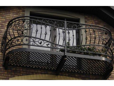 Balustrada kuta zewnętrzna balkon BKZ0021