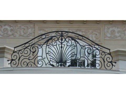 Balustrada kuta zewnętrzna balkon BKZ0049